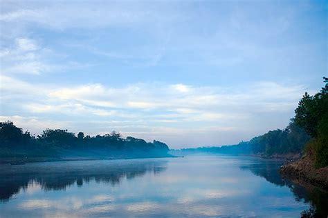 Lukisan Kuno Pemandangan Sungai Di Tengah Sawah L21 sungai gt alam indonesia gt foto beautiful indonesia umm
