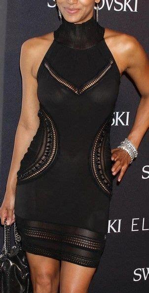 Found Halle Berrys Black Papillon Mini Dress by 23 Best Denim Shirts Coordinates Images On