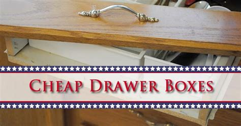 Premade Drawer Boxes by Cheap Drawer Boxes Drawer Connection Premade Drawer Boxes