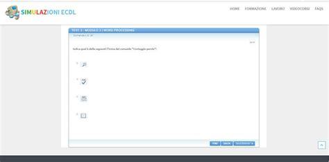 simulazioni test nuova ecdl come fare simulazioni ecdl e eipass giardiniblog