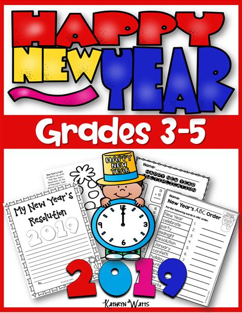 new years activities 2019 grades 3 5 kathryn