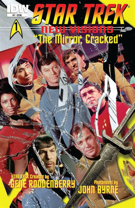 Trek New Visions Volume 1 comics trek new visions 1 the mirror cracked look