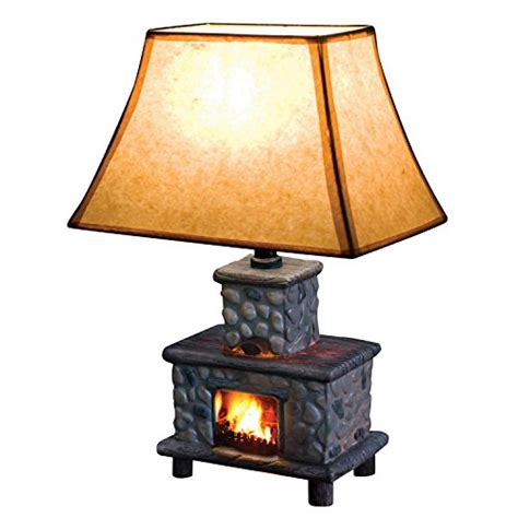 Fireplace Lighting Fixtures Painted Ceramic Fireplace Table L Fixtures And Beyond