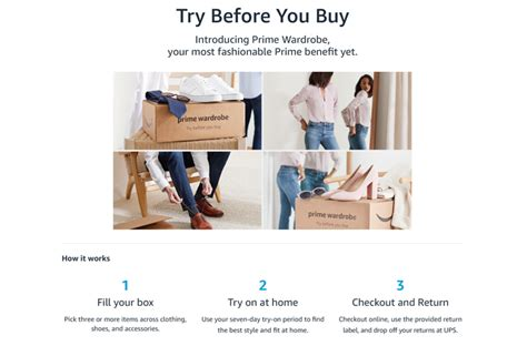 Try Before You Buy 3 by Prime Wardrobe Lets You Try On Clothes Before You Buy