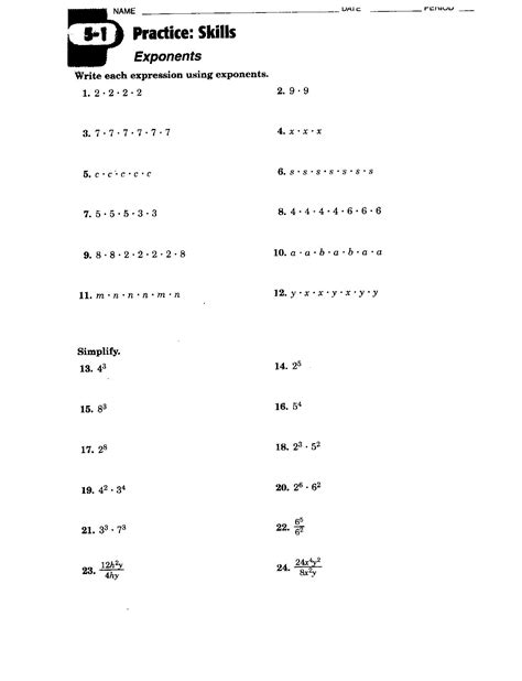 Prealgebra Worksheets by 17 Best Images Of Introduction To Pre Algebra Worksheets