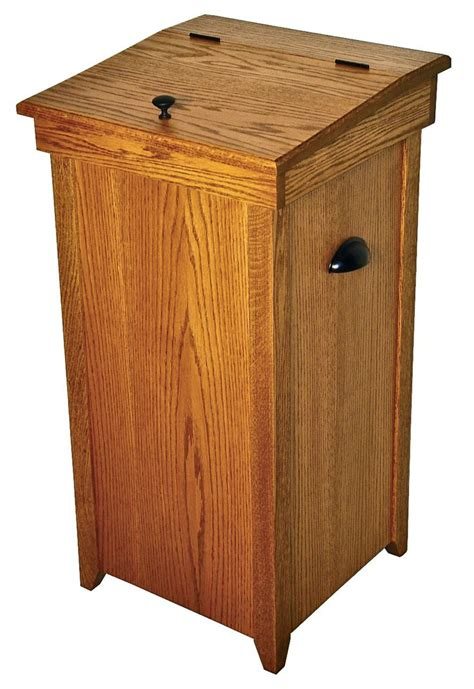wooden trash can cabinet kitchen amusing wooden kitchen garbage can wood trash