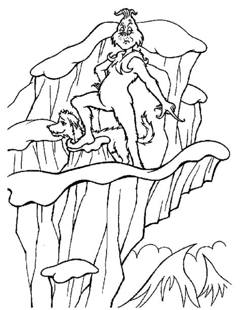Grinch Coloring Pages 2 Coloring Pages To Print Free Coloring Pages Grinch