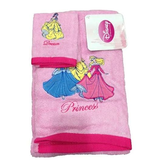 Disney Princess Bath Towel Pink disney princess 2 bath embroidered children s pink