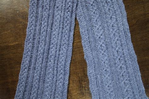 how to knit front and back knit reversible cables with no wrong side to worry about