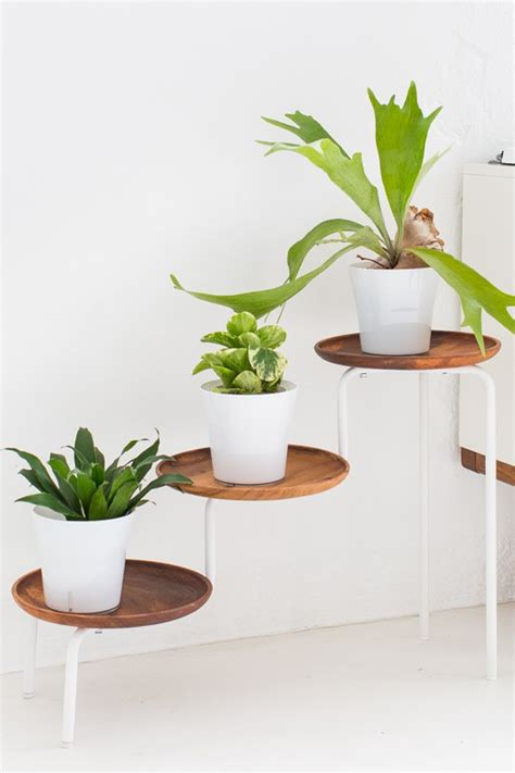 How To Make A Plant Holder - 12 diy plant stands that let you explore your creativity
