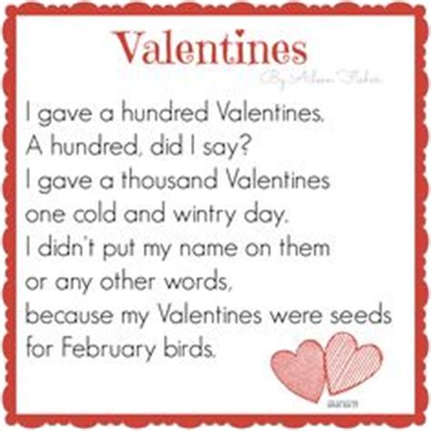 valentines day poems for kindergarten 1000 images about poem s on valentines day