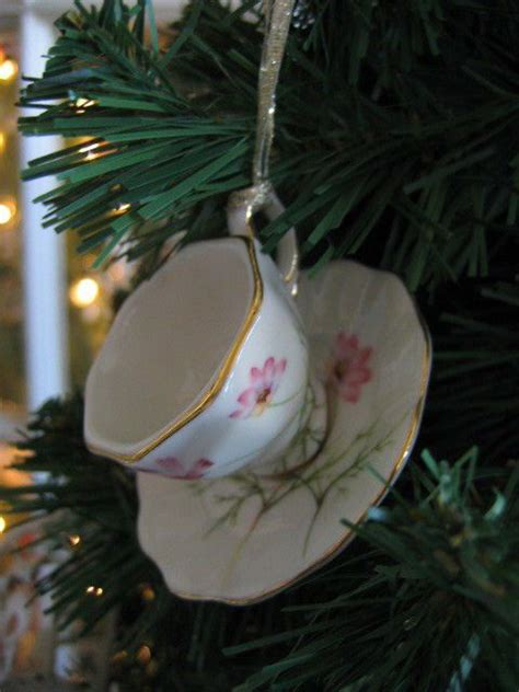 china pink wildflower teacup saucer ornament new