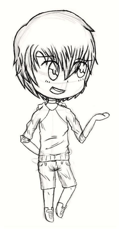 How To Draw Chibi Boy Clothes Free A Chibi Boy By Mikudarkmagic On Deviantart by How To Draw Chibi Boy Clothes Free