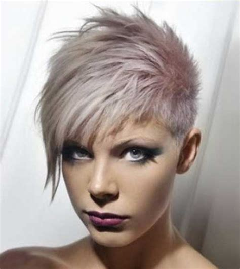 very short punk asymmetrical hairstyles for women on pinterest 20 best punky short haircuts short hairstyles 2017