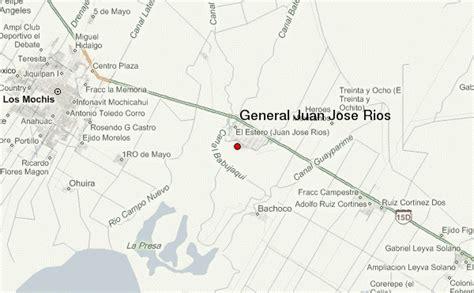 mapa de guasave sinaloa gu 237 a urbano de general juan jose rios
