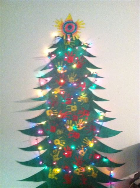 fun christmas tree to make with the kids roll of