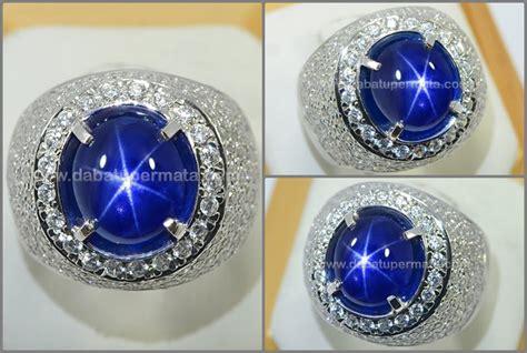 Batu Mulia Blue Safir No Heat Sps 74 kasmir blue safir no heat sps 207