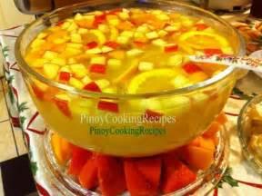Filipino Main Dish Recipe - fruit punch pinoycookingrecipes