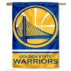 golden state colors golden state warriors two sided house flag