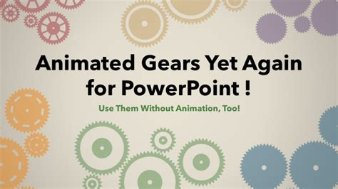 Animated Gears Yet Again For Powerpoint Animated Gears Powerpoint
