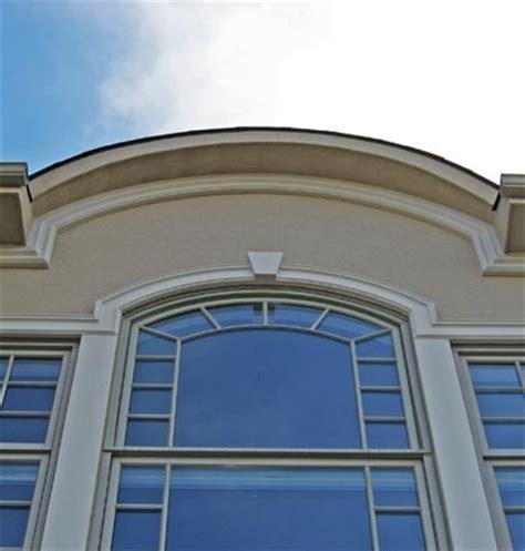 Foam Cornice Moulding foam window trim with cornice detail