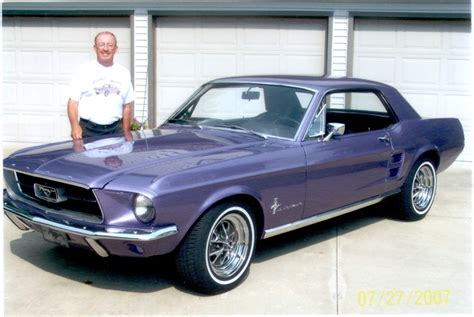 metallic purple 1967 mustang paint cross reference