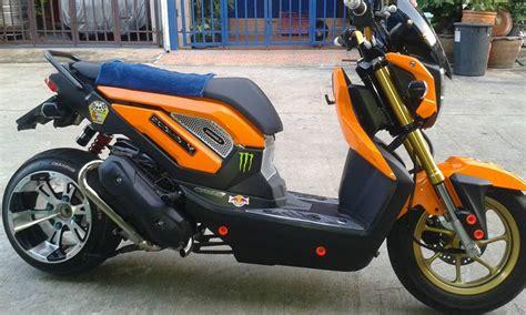 Tutup Tangki Bebek Metic Honda Yamaha Suzuki Kawasaki Dll modifikasi honda zoomer x di thailand kok gak ada yang pakai ban cacing ya warungasep
