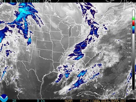 satellite weather map eastern us go for the green