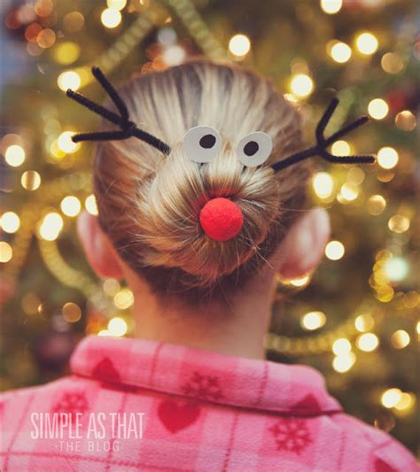 be different act normal rudolph christmas bun