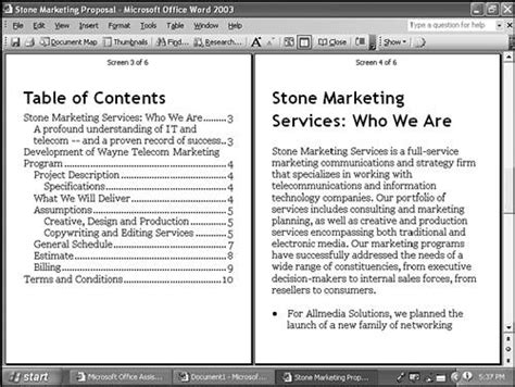 reading layout word 2003 productivity improvements chapter 1 what s new in