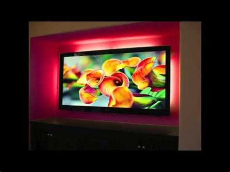 entertainment center with led lights remote controlled led lights for hdtvs and entertainment