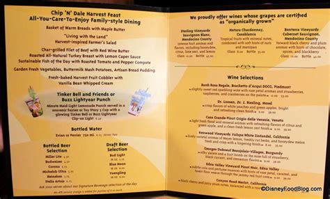 Garden Grille Menu review epcot s garden grill restaurant the disney food