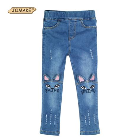 pattern of jeans retail new cat cartoon pattern kids jeans fashion baby