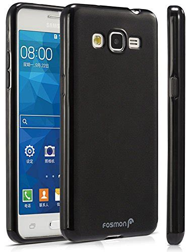 Slim Black Matte Samsung Galaxy Grand Prime G530 Softcase samsung galaxy grand prime fosmon dura