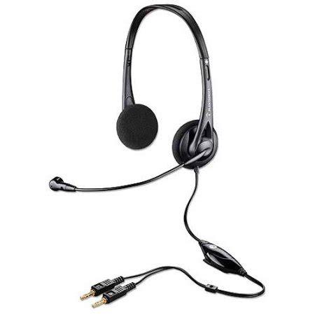 plantronics audio 326 noise canceling headset walmart