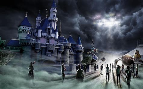 the time of darkness on wacom gallery hong kong disneyland halloween full hd fond d 233 cran and