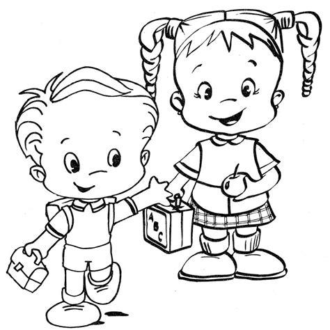 imagenes de otoño para niños ni 195 o sentado jugando animado para colorear imagui