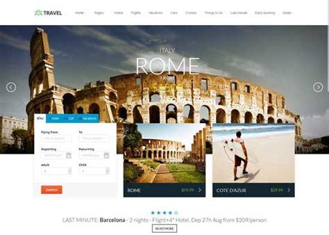 html5 travel templates 70 best travel website templates free premium