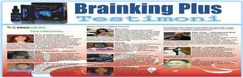 Brainking Plus Untuk Nutrisi Otak Paling Uh pusat brainking plus call gt gt 08123 01 8900