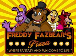 Freddy fazbear s pizza logo by fantasyflixart on deviantart