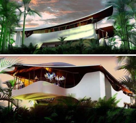 Futuristic Homes Interior Green Luxury Futuristic Off The Grid Forest Home Design