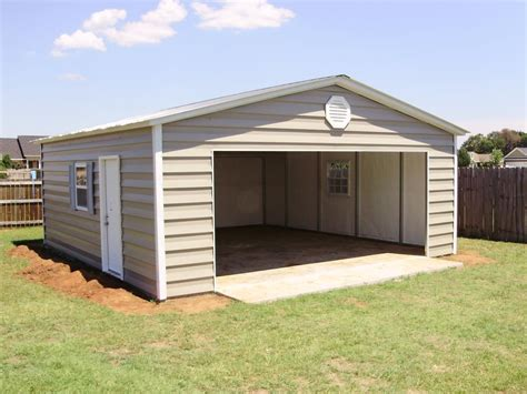 Small Metal Garage by Steel Buildings Small Steel Buildings