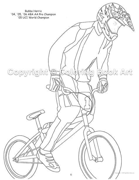 BMX bike coloring page - letscoloringpages.com - nice pic