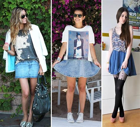 7 Best Jean Skirts For Back To School by How To Wear A Denim Skirt Fashionisers