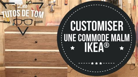 Relooker Une Commode Ikea by Diy Customiser Une Commode Malm Sur Deco Fr