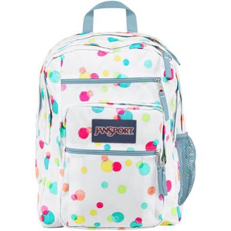 Tas Wanita Backpack Polkadot jansport big student backpack pink pansy confetti dots 17 5h x 13w x 10d buy in uae