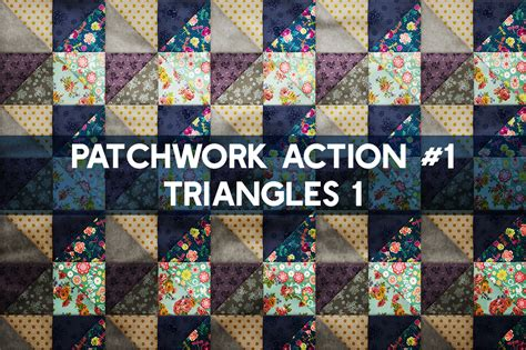 patchwork effect photoshop toolkit design cuts