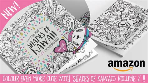 kawaii coloring book new colouring book shades of kawaii volume 2