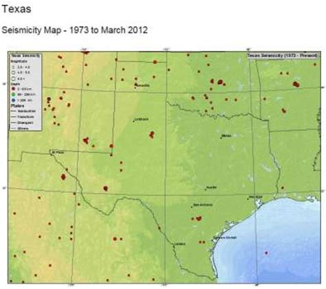 usgs earthquake map texas usgs to raise texas earthquake hazard risk houston chronicle