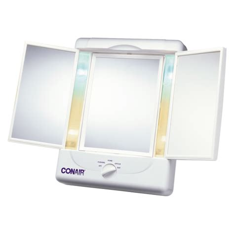 conair two sided makeup mirror with 4 light settings conair two sided makeup mirror with 4 light settings